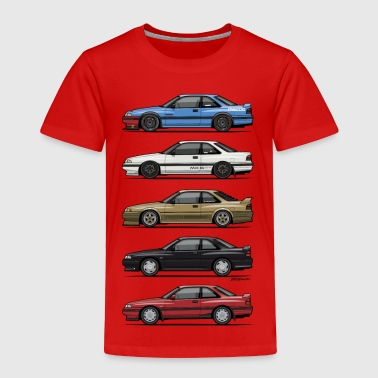 Stack of Mazda MX6 GTs - Toddler Premium T-Shirt