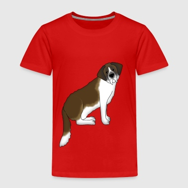 St.Bernard dog - Toddler Premium T-Shirt