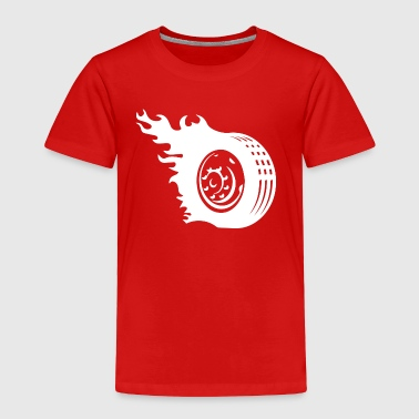 Car Tires Tire Car Wheel1 - Toddler Premium T-Shirt