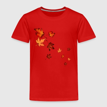 Fall Leaves - Toddler Premium T-Shirt