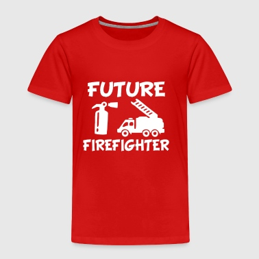 Future Firefighter Funny baby boy - Toddler Premium T-Shirt