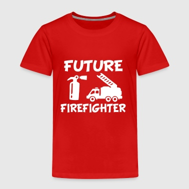Firefighter Baby Future Firefighter Funny baby boy - Toddler Premium T-Shirt