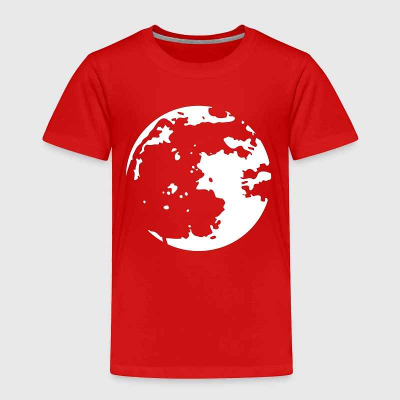 Moon Stencil - Toddler Premium T-Shirt