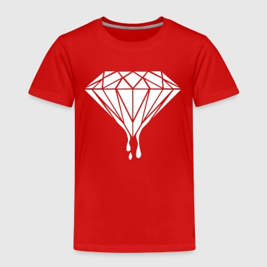 Diamond Drips - Rich-Money-Hip Hop-Gangster Gift - Toddler Premium T-Shirt
