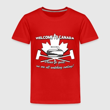 CURLING CANADA - Toddler Premium T-Shirt