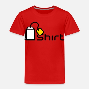 Grey Tea Shirt - Toddler Premium T-Shirt