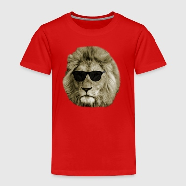 Cool Lion - Toddler Premium T-Shirt