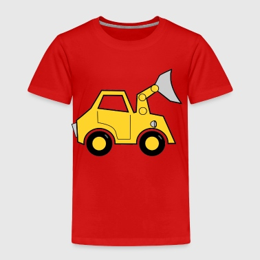 bulldozer - Toddler Premium T-Shirt