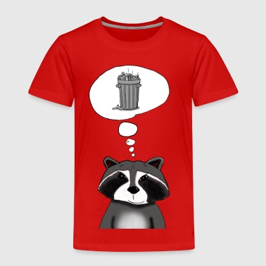 Cool Raccoon - Toddler Premium T-Shirt