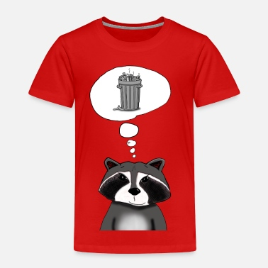 Raccoon Cool Raccoon - Toddler Premium T-Shirt