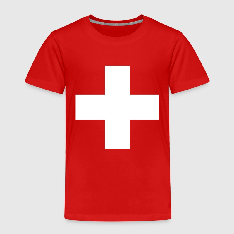 Swiss Cross - Toddler Premium T-Shirt