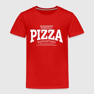 Olio Pizza Napoletana (white) - Toddler Premium T-Shirt