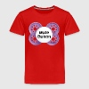 Mute Button Pacifier - Toddler Premium T-Shirt