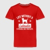 Dog shirt: Life without a Labrador is pointless - Toddler Premium T-Shirt