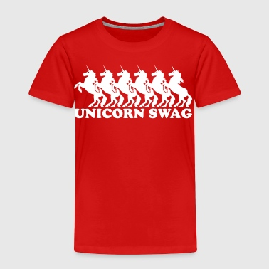 Unicorn Swag Unicorn Swag (1 Color) - Toddler Premium T-Shirt
