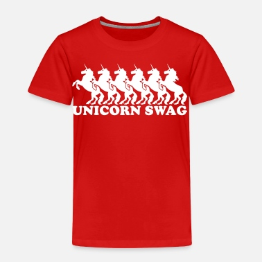 Swag Unicorn Swag (1 Color) - Toddler Premium T-Shirt