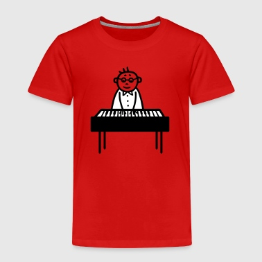 Piano Player - Pianist - V2 - Toddler Premium T-Shirt