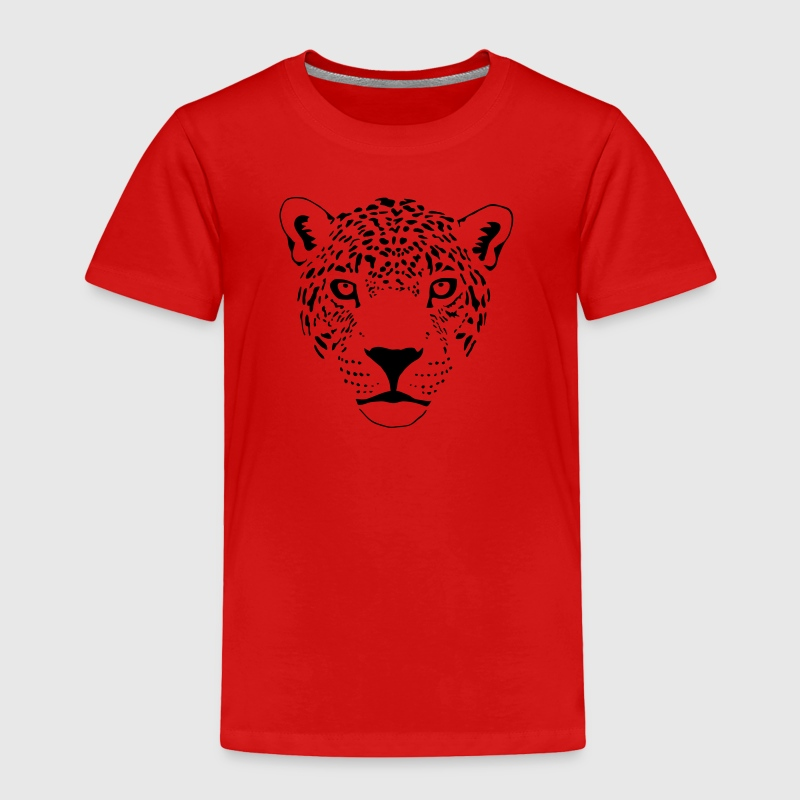 jaguar cougar cat puma panther leopard cheetah - Toddler Premium T-Shirt