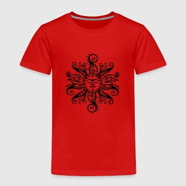 Tribal sun. Midsummer, summer festival. - Toddler Premium T-Shirt