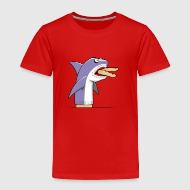 shark puppet - Toddler Premium T-Shirt