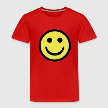 Happy Face - Toddler Premium T-Shirt