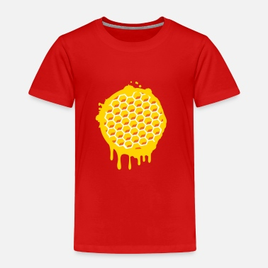 Honey Honeycomb A honeycomb - Toddler Premium T-Shirt