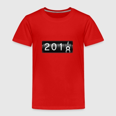Cool 2018 New Year's Eve - Toddler Premium T-Shirt