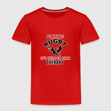 rugby design - Toddler Premium T-Shirt