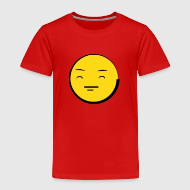 Happy Emoticon Face (emotion) - Toddler Premium T-Shirt