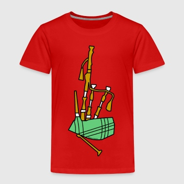 Bagpipes - Toddler Premium T-Shirt
