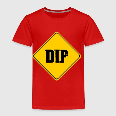 Bowling Insults wordtease DIP road sign insult yellowz - Toddler Premium T-Shirt