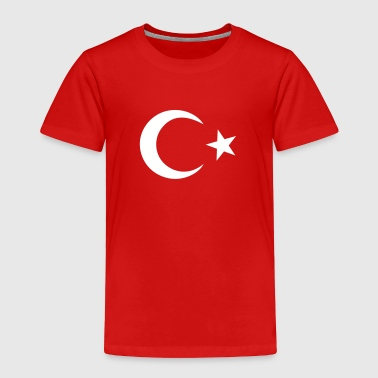 Turkish Star Turkish Flag - Toddler Premium T-Shirt