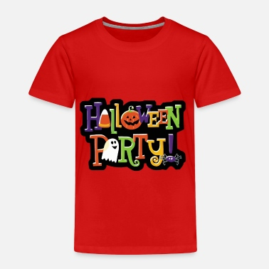 Party Halloween Party - Toddler Premium T-Shirt