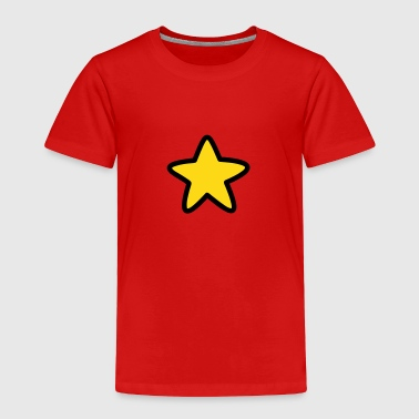Yellow Star - Toddler Premium T-Shirt