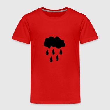 Cloud, rain - Toddler Premium T-Shirt
