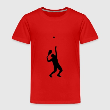 tennis, tennis player - Toddler Premium T-Shirt