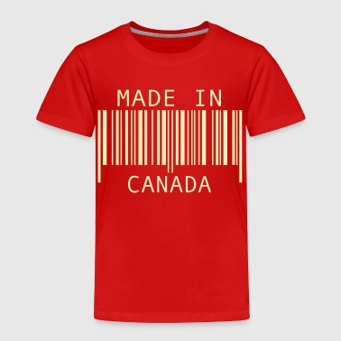 Made in Canada - Toddler Premium T-Shirt