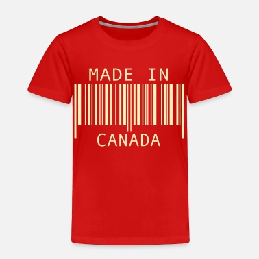 Canada Made in Canada - Toddler Premium T-Shirt