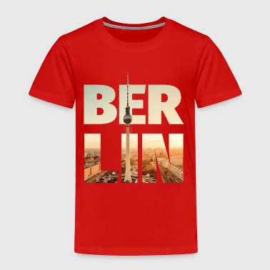 Berlin Underground BERLIN CITY – Typo - Toddler Premium T-Shirt
