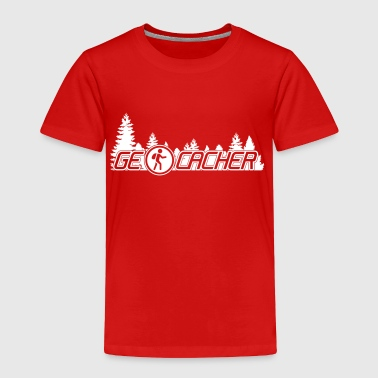 Geocaching geocacher - Toddler Premium T-Shirt