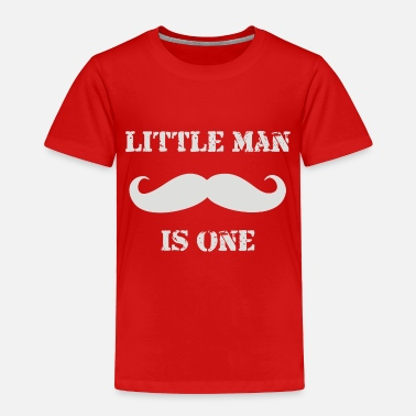 Little Man little man mustache first - Toddler Premium T-Shirt