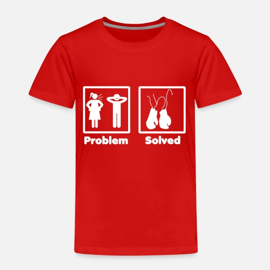 Studio Baby Clothing - problem solved boxen boxer 2 - Toddler Premium T-Shirt red