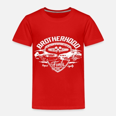 Furious Fast and Furious Brotherhood - Toddler Premium T-Shirt