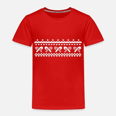 Candy christmas candy canes - Toddler Premium T-Shirt