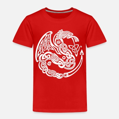 Celtic Сeltic dragon - Toddler Premium T-Shirt