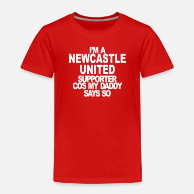 Newcastle United Supporter - Toddler Premium T-Shirt