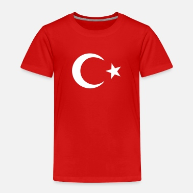Turkish Turkish Flag - Toddler Premium T-Shirt