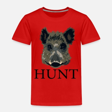 Hog Hog Hunt - Toddler Premium T-Shirt