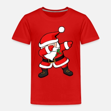 Christmas Dabbing Santa Claus - Toddler Premium T-Shirt