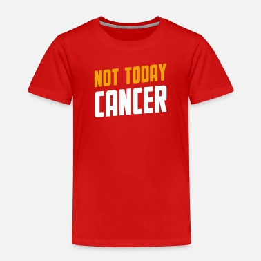 Yellow Not Today Bone Cancer Tee - Toddler Premium T-Shirt